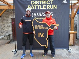 Nov� be�eck� okruh pre v�azov adidas District Battle Run otvoren�